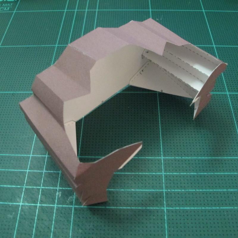 วิธีทำโมเดลกระดาษคุกกี้รัน คุกกี้รสโจรสลัด (Cookie Run Pirate Cookie Papercraft Model) 003