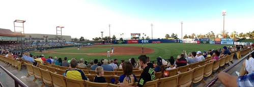 Panoramic view from my seat at the Las Vegas 51s game vs. Reno.