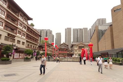 Xi'an, départ de la route de la soie