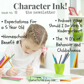 Character Ink Newsletter no. 18