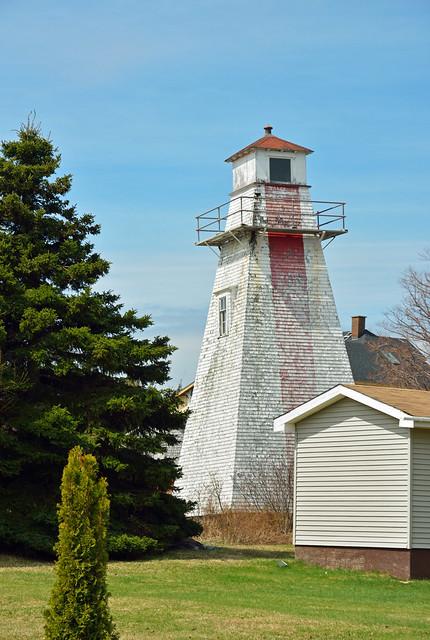 Indian Point Range (rear) Lighthouse, NB
