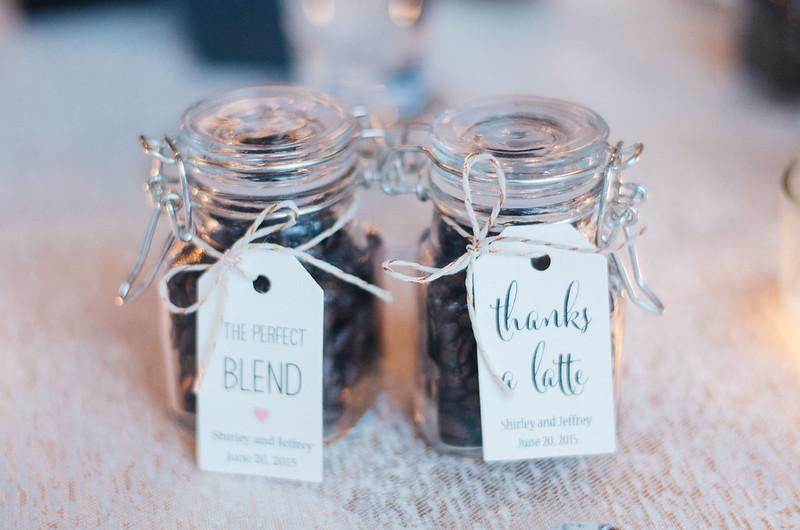Thanks A Latte Wedding Favors on juliettelaura.blogspot.com