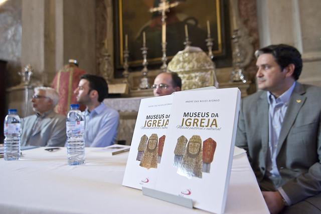 """Lançamento da obra """"Museus da Igreja"""""""