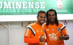 Treino do Fluminense - 27/05/2015