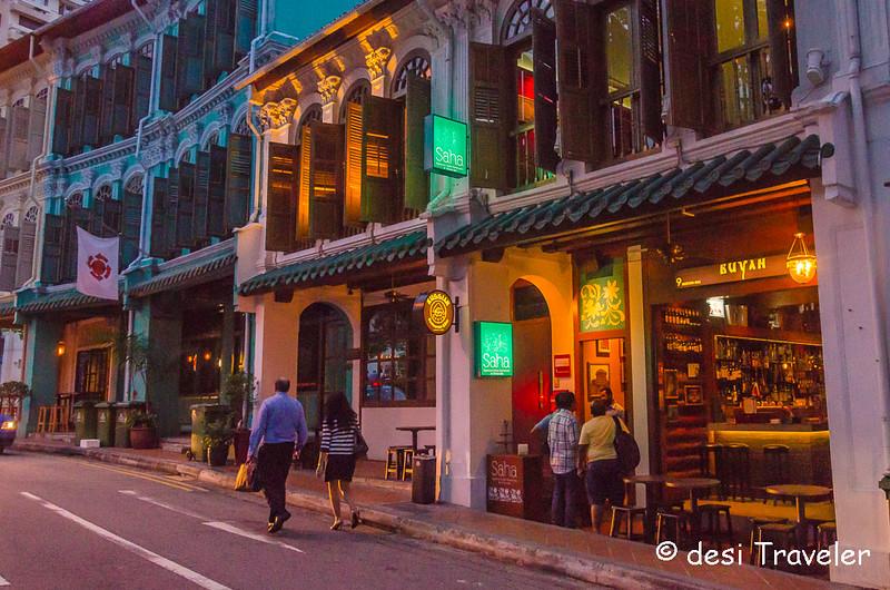 SAHA Fine Dine Restaurant Singapore