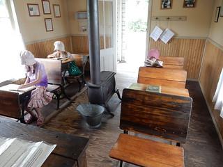 Laura ingalls Wilder Museum - schoolhouse