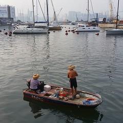 #hongkong #fisherman #fishercouple