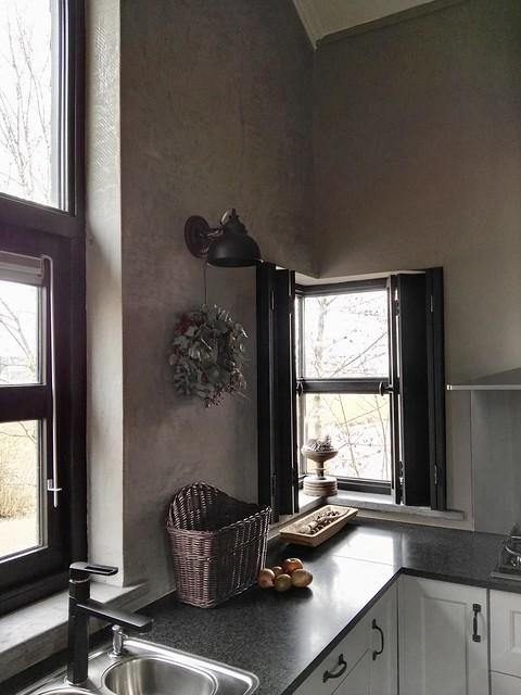 Keuken sobere decoratie