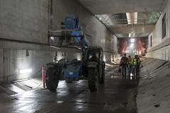 Getting around inside the SR 99 tunnel