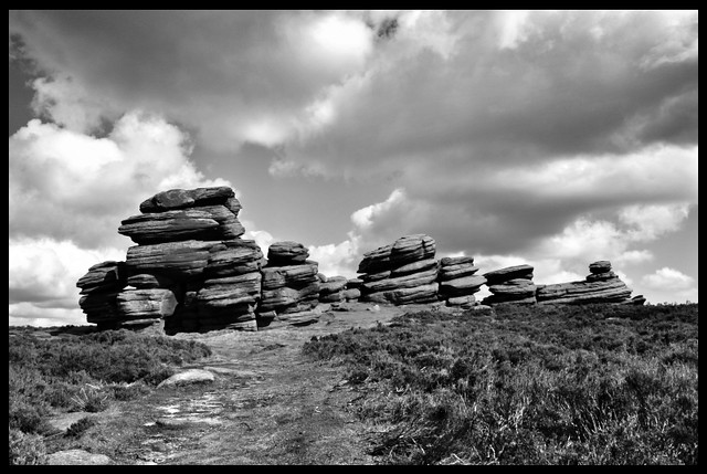 Wheel Stones on Derwent Edge