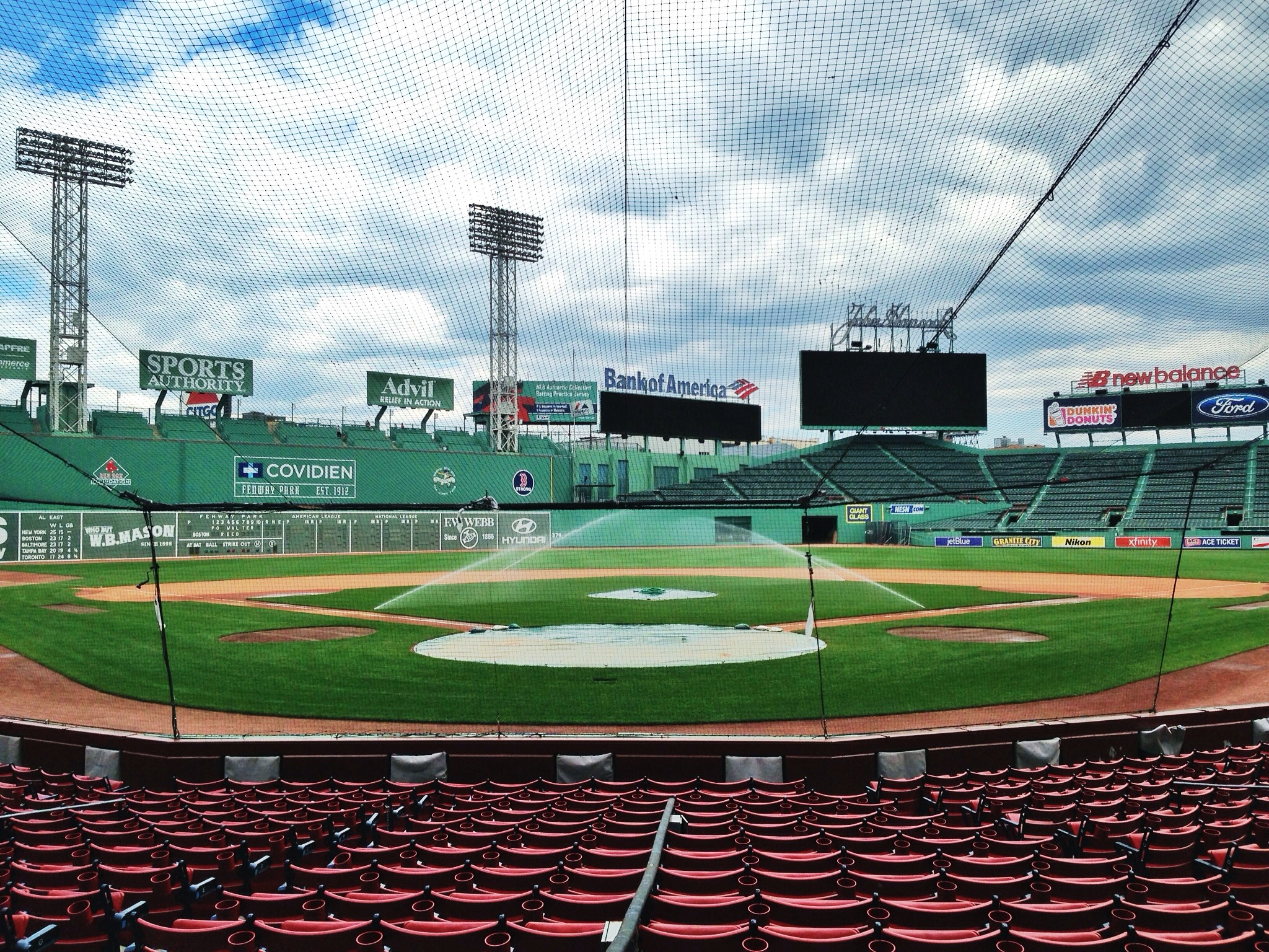 Behind home plate behind home plate by imchrismacdonald flickr