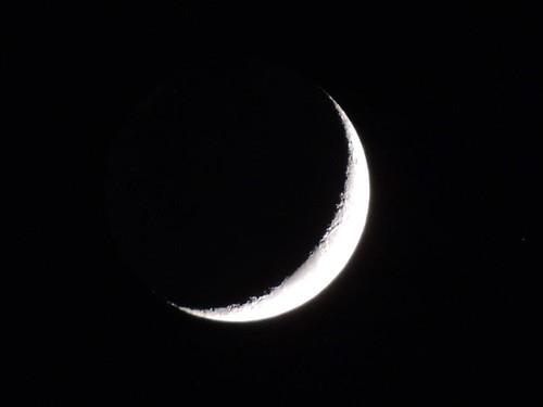 Spicchio di luna by meteomike