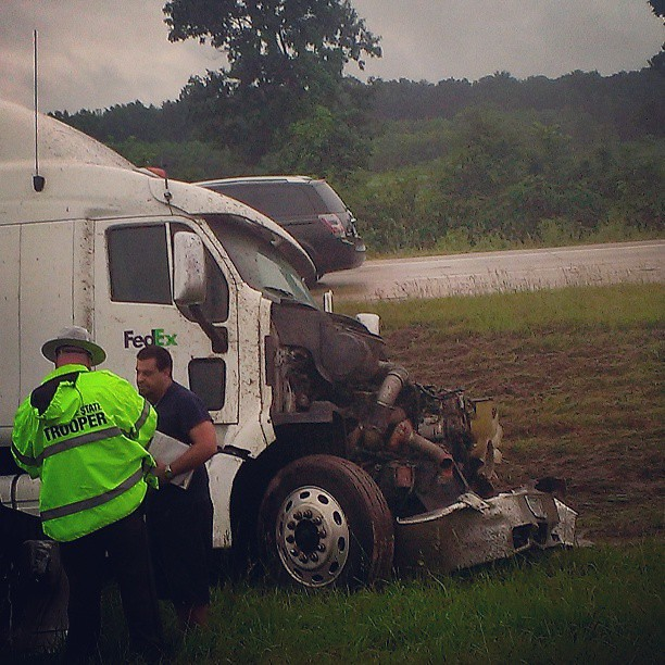 truck #wreckage #wreck #Tennessee #I-40 #truckdriving #ac…   Flickr