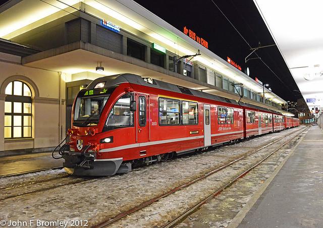 JFB 121214 013 RhB 3513 Chur Bahnhof S2 Train 1461 Chur-Arosa LIGHTROOM