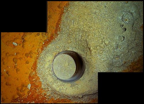 Curiosity sol 292 MAHLI