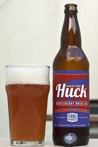Meeting CBC's Grant Lawrence and Review: Fernie Brewing What the Huck Wheat Ale by Cody La Bière