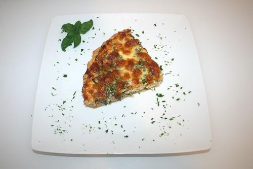 52 - Tarte au poule - Serviert / Served