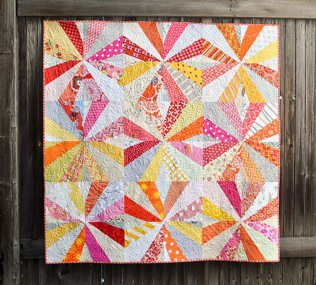 crazy star quilt - do good stitches wish circle may quilt