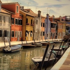 The Banks of Burano Island