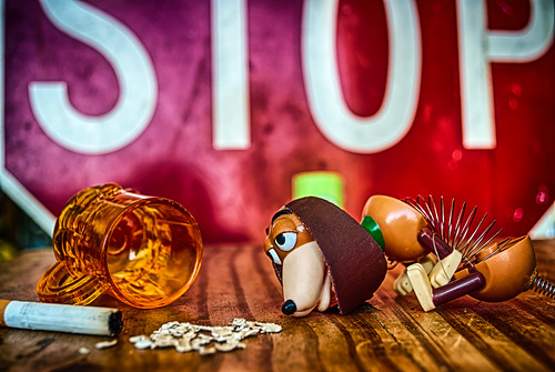 The Excess Of A Slinky Dog by hbmike2000