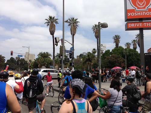 CicLAVia on Wilshire