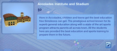 Accolades Institute and Stadium