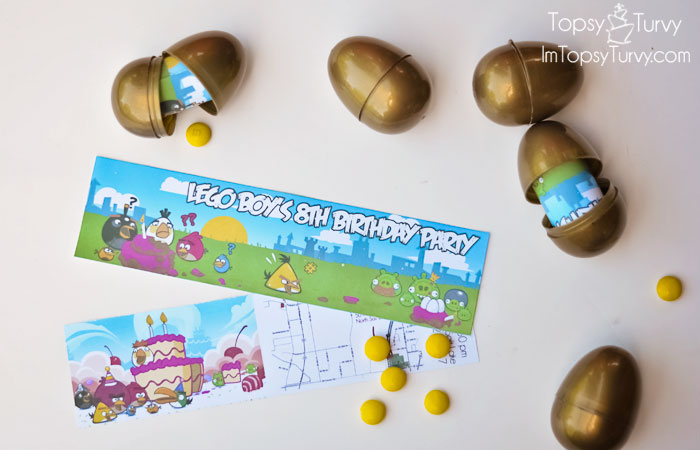 Angry Birds Birthday Party Invitations Im Topsy Turvy – Angry Birds Party Invitations