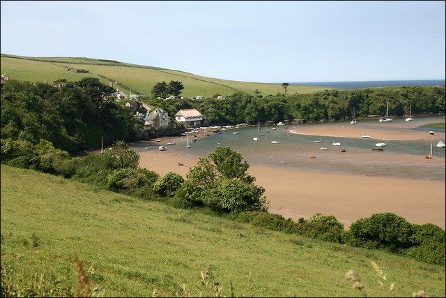 The River Avon at Bantham
