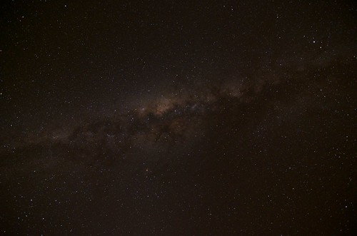 rogersmj posted a photo:	In the middle of nowhere, with virtually no light pollution, the night sky is stunning. I've never seen the Milky Way with such clarity before. I shot this our first night at Pondoro with an ultrawide lens at 11mm, f/2.8, ISO 1000, 30 seconds.