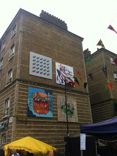 Whitecross street party by Carl Cashman