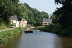 Canal d'Ille et Rance, Brittany - Photo of Tréfumel
