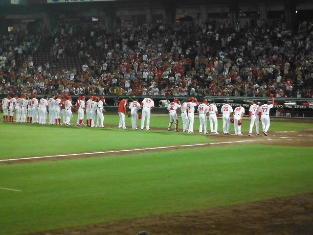 Carp Bowing After Victory!