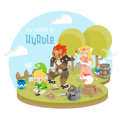 My World #1 - Hyrule by Ana Rois Ortiz