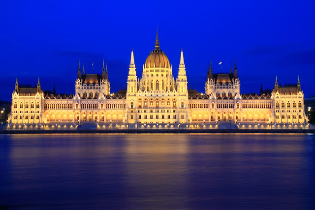 Parlement Hongrois (Országház) - Budapest - Hongrie