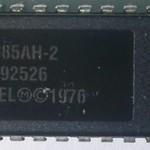 02 Intel P8085AH2  5Mhz 1976