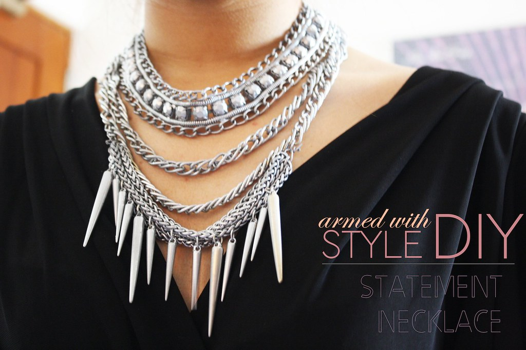 DIY statement necklace dylanlex