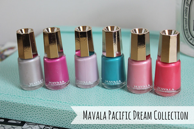 mavala pacific dream collection