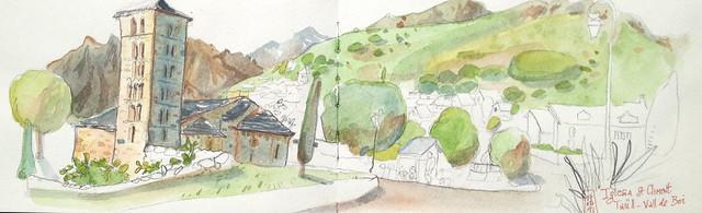 Taüll, Iglesia St Climent, Vall de Boï