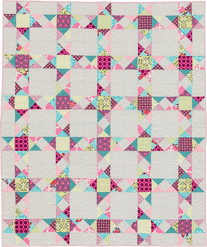 Polaris quilt from my new book - Becoming a Confident Quilter