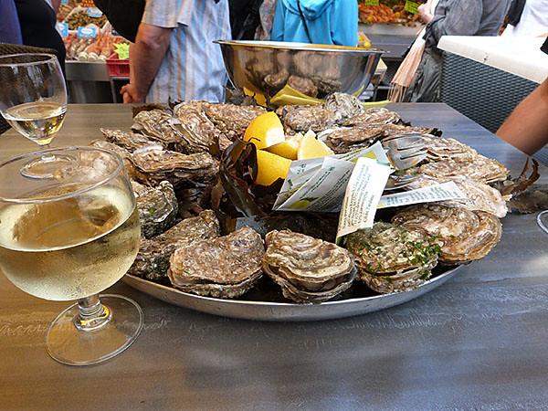 huîtres à Trouville