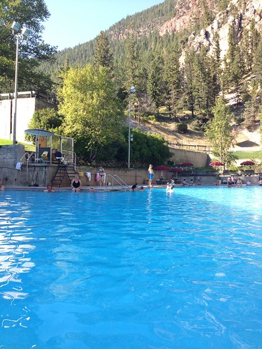 Radium Hot Springs