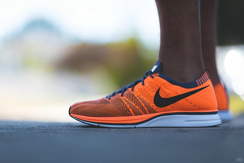 Nike Flyknit Trainer - Total Orange