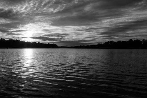 sunset blackandwhite bw water monochrome blackwhite scenic