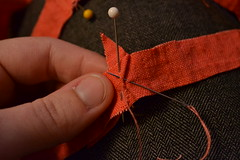 Sewing the Apron Strings