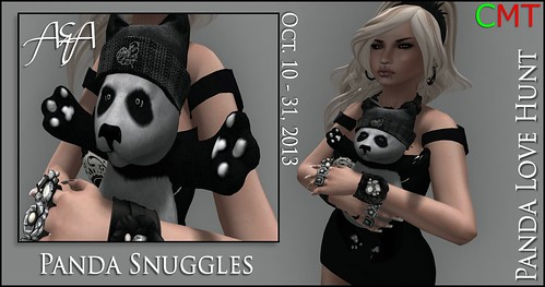 ::A&A:: Panda Snuggles - Panda Love Hunt by Alliana Petunia