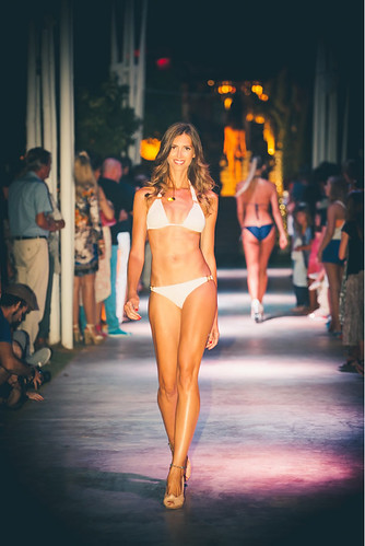 White Ibiza fashion show