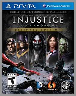 Injustice: Gods Among Us Ultimate Edition for PS Vita