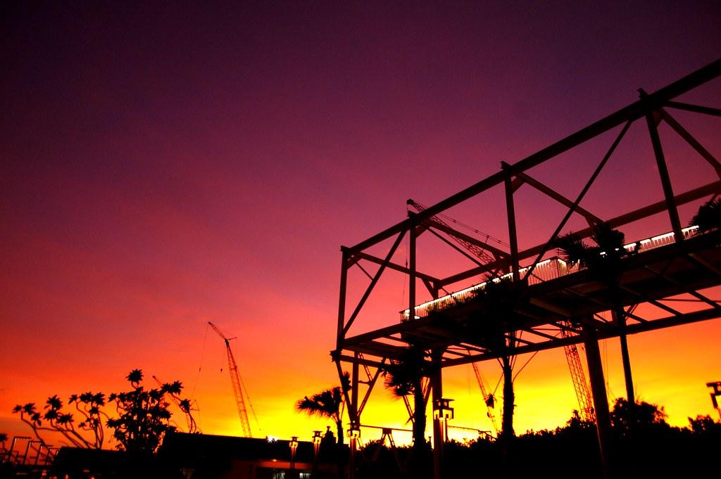 紅毛港夕陽~1006