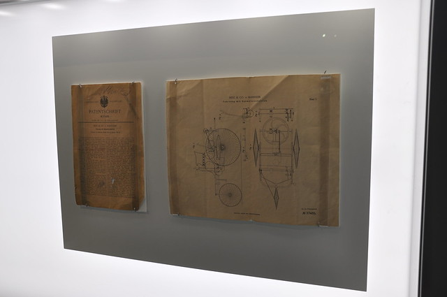 Mercedes Benz Museum - Benz & Co Patent