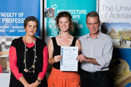 2011 Winner: Jesse Zilm Presented by Darian Hiles (Chairman) & Ms Tanya Court (Acting Head of School)